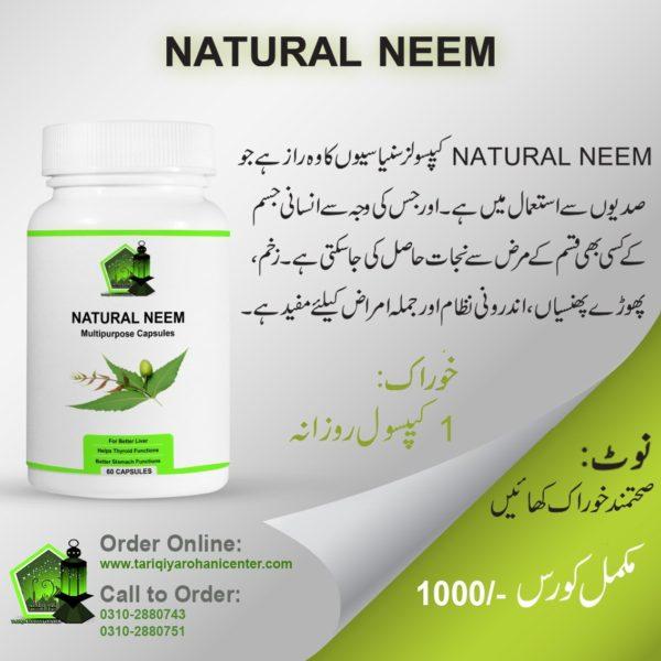 Natural Neem 60Cap
