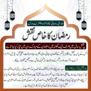 Ramadan ka Khaas Naqsh