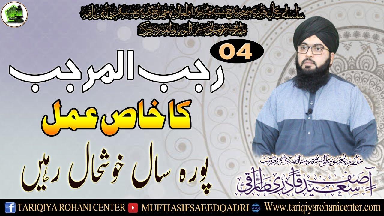 Chaar Rajab ul Murajjab Ka Khas Amal