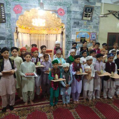 Noor ul Quran Academy se Hifzul Quran mukammal karen wale bachon ma asnaad taqseem karne ki taqreeb